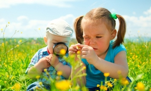 4 lợi ích tuyệt vời khi cho trẻ chơi cùng thiên nhiên
