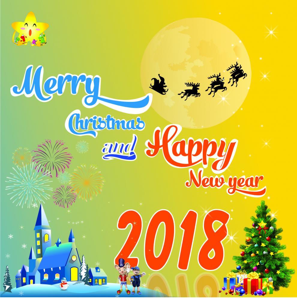 Chúc mừng Giáng sinh và Năm mới